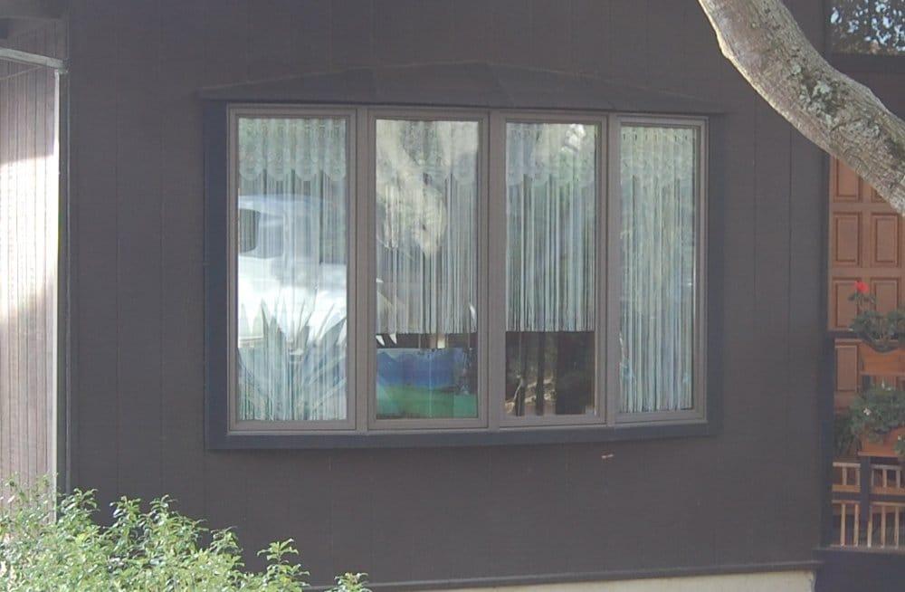 Anderson Windows Reviews >> Advanced Window Systems. Andersen Vinyl clad terratone bow ...