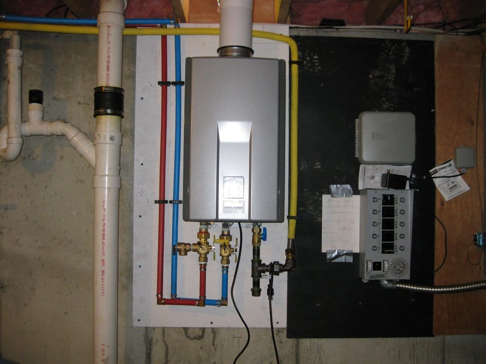 Rinnai Water Heater Installation Yelp