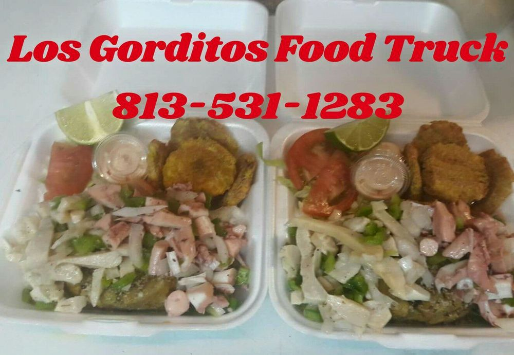 Los Gorditos Food Truck: 3125 W Hillsborough Ave, Tampa, FL