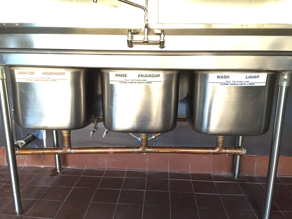 photo of city wide plumbing construction glendale ca united states 3 - Three Compartment Kitchen Sink