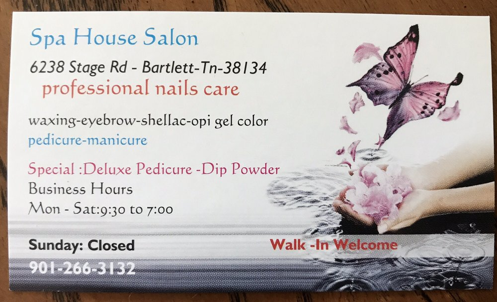 Spa House: 6238 Stage Rd, Bartlett, TN