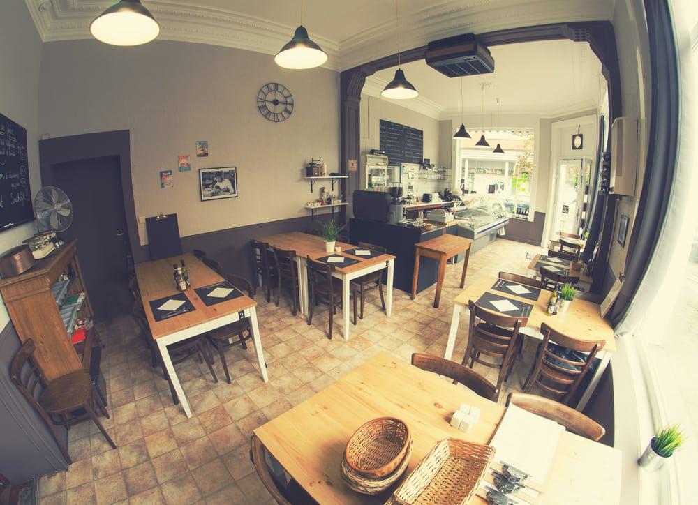 L atelier poischich 11 photos sandwichs chauss e de for Ateliers cuisine bruxelles