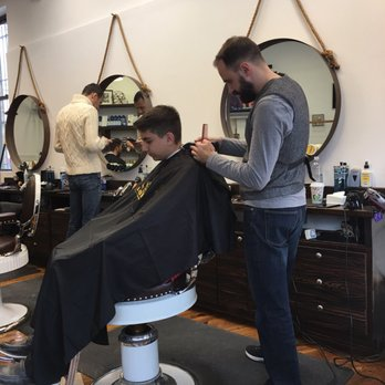 Barber Shop Highland Park : Evan loves his haircut from Stepan! He only wants to come here when we ...