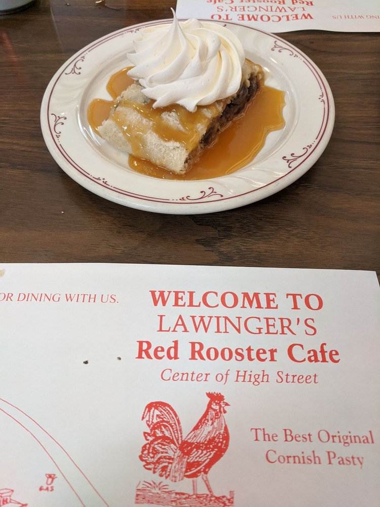 Red Rooster Cafe: 158 High St, Mineral Point, WI