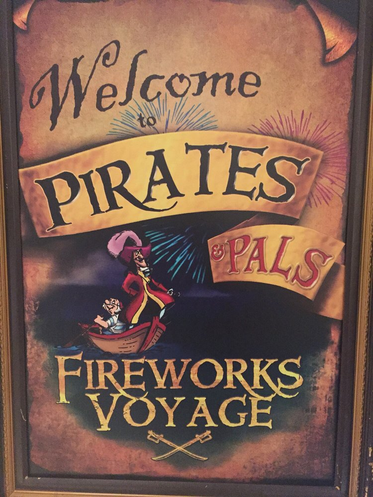 Pirates & Pals Fireworks Voyage