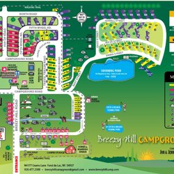 Breezy Hill Campground Campgrounds N4177 Cearns Ln