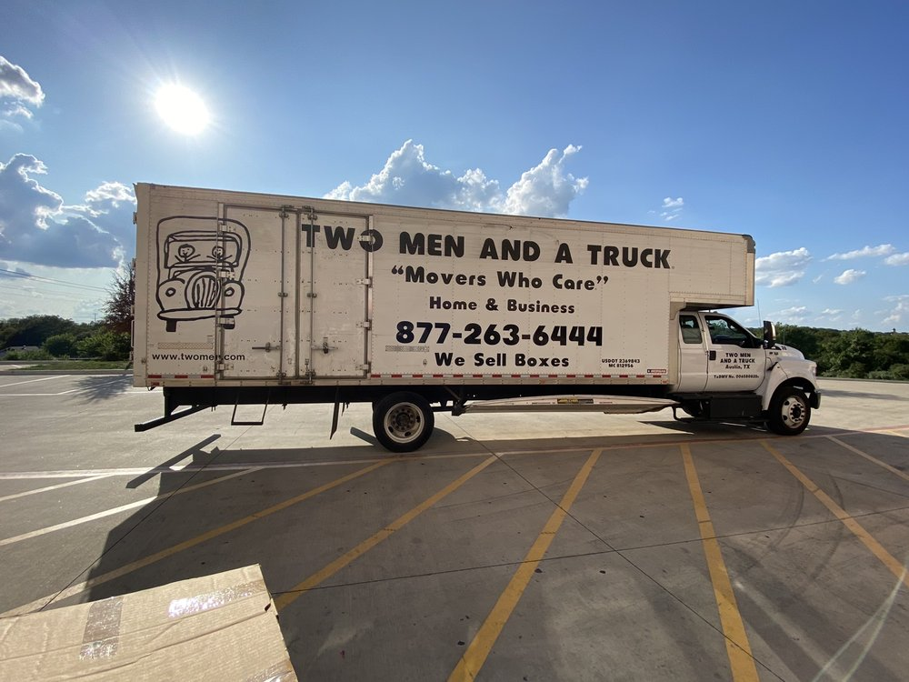 Two Men and a Truck Austin North: 15501 Ranch Road 620 N, Austin, TX