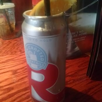 Blue Moon Can Crafted Cocktail