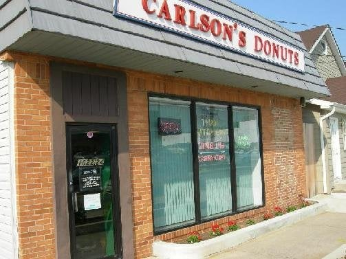 Food from Carlson's Donuts & Thai Kitchen