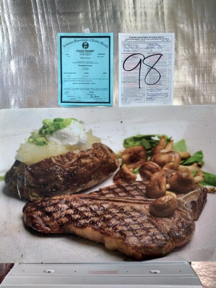 The Steak Factory: 1413 Frederick Rd, Opelika, AL