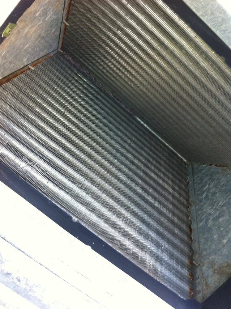 Photo of Air Maintenance Heating & Cooling - Tucson, AZ, United States. After Photo of recently cleaned coil