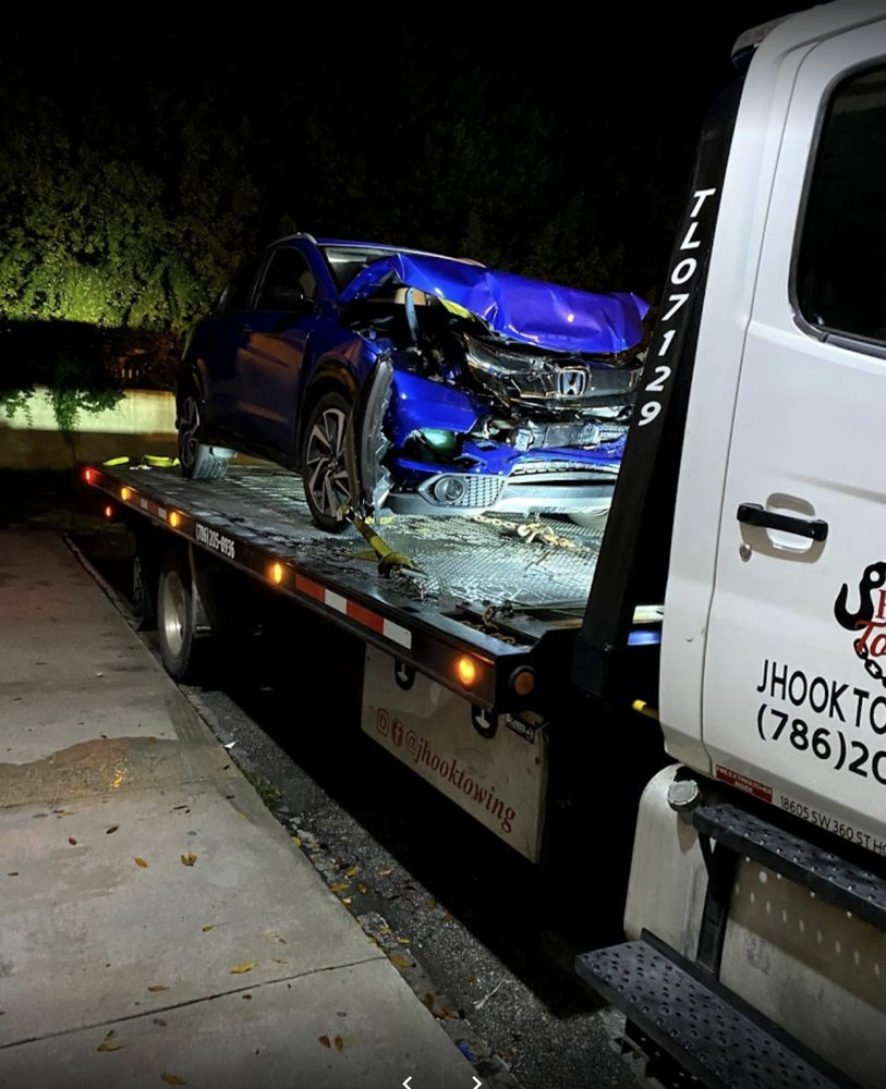 Towing business in Leisure City, FL