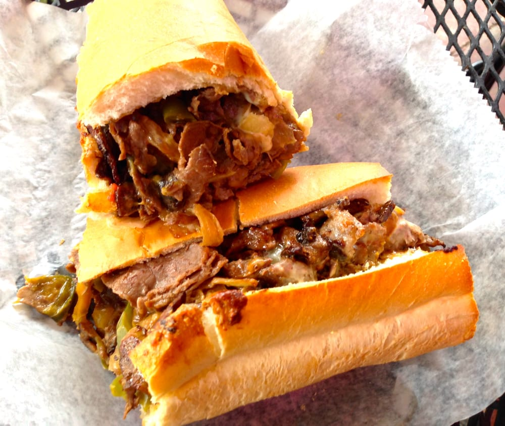 Vero Italian Kitchen: Awesome Philly Cheese Steak Sub