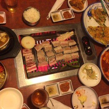 Photo Of Todamgol Korean Restaurant Lynnwood Wa United States Feasting On Kbbq