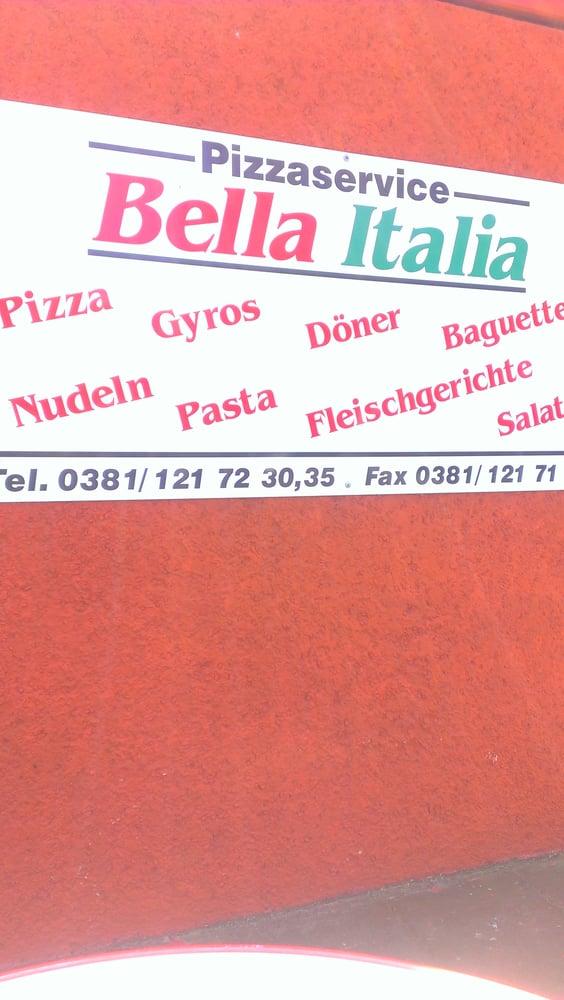 bella italia pizza service italiensk mat ger stbauerring 39 rostock mecklenburg vorpommern. Black Bedroom Furniture Sets. Home Design Ideas