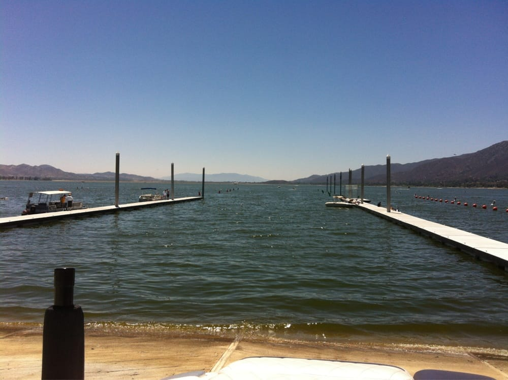 6 30 12 opening day 6 lane boat launch yelp for Lake elsinore fishing report