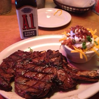 Photo Of Texas Roadhouse Stillwater Ok United States Bone In Ribeye Steak