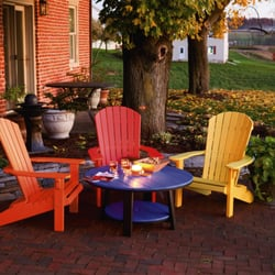 Photo Of Everything Amish   Hughesville, MD, United States. Adirondack  Chairs From Leisure