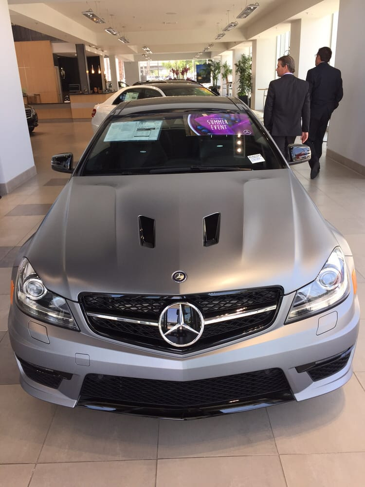 C63 amg you will be mine next year yelp for Downtown la motors mercedes benz