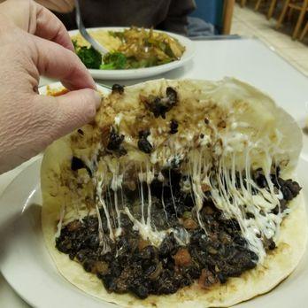 Photo Of La Joya Mexican Restaurant Charlottesville Va United States Vegetarian Quesadilla