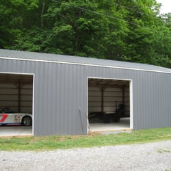 English home improvements 129 photos contractors for Pole barns tennessee