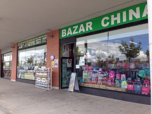 Bazar china chinese bazaar calle de benidorm - Chino arroyomolinos ...