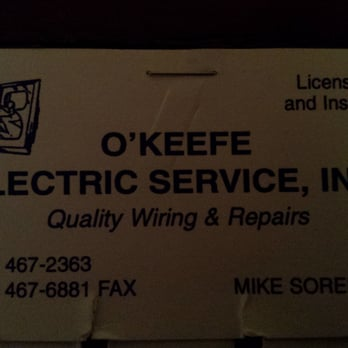 Okeefe electric service electricians 20 29th st kenner la photo of okeefe electric service kenner la united states business reheart Choice Image