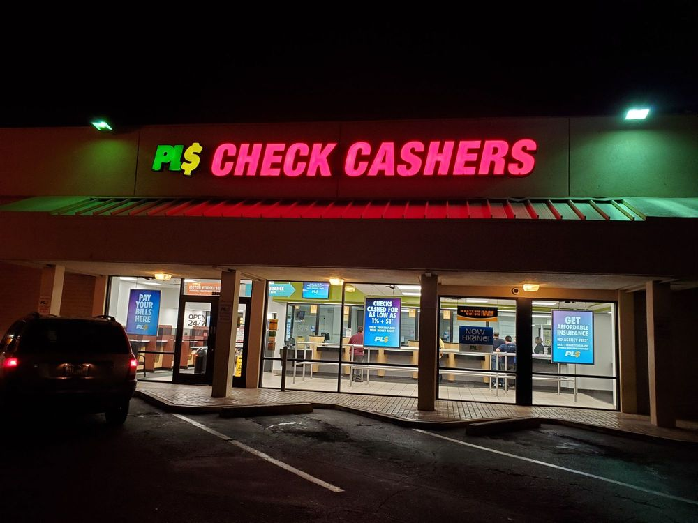 PLS Check Cashers