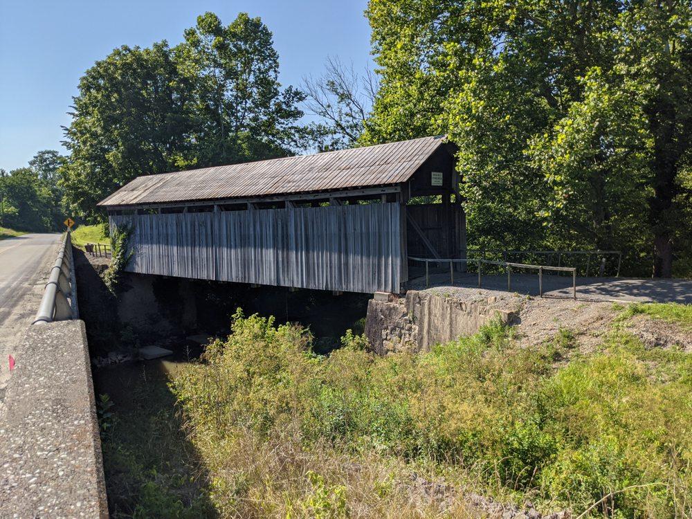 Ringo's Mill Covered Bridge: KY-158, Hillsboro, KY