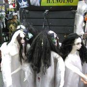 inside view photo of spirit halloween store stockton ca united states scary stuff