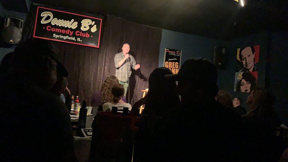 Donnie B's Comedy Club: 3455 Freedom Dr, Springfield, IL