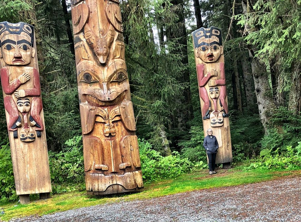 Photo of Sitka National Historical Park - Sitka, AK, United States. Example of Park's totems