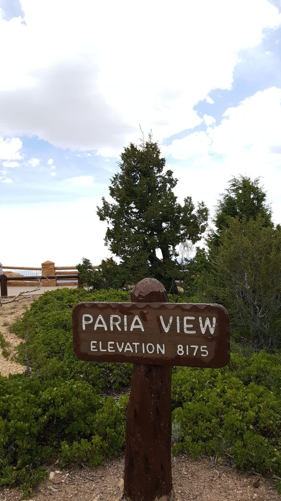 Paria View: Rim Trl, Bryce, UT