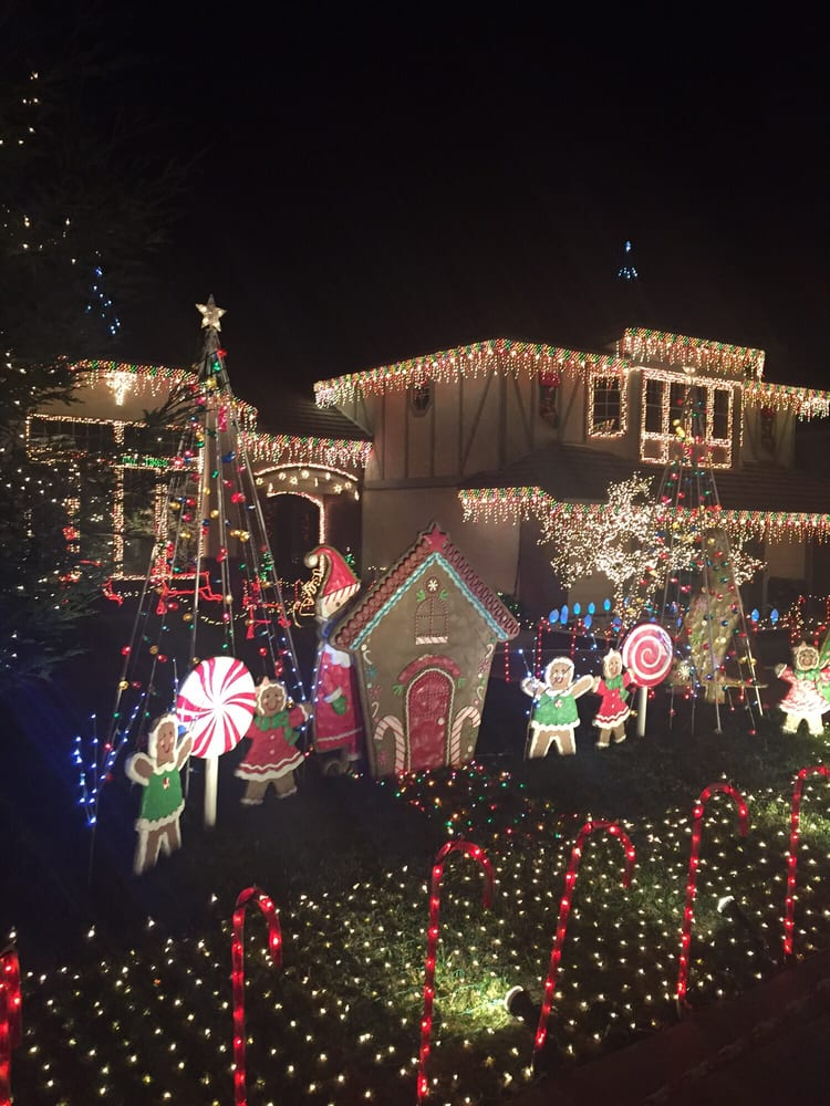 photo of thoroughbred christmas lights rancho cucamonga ca united states gingerbread house - Thoroughbred Christmas Lights