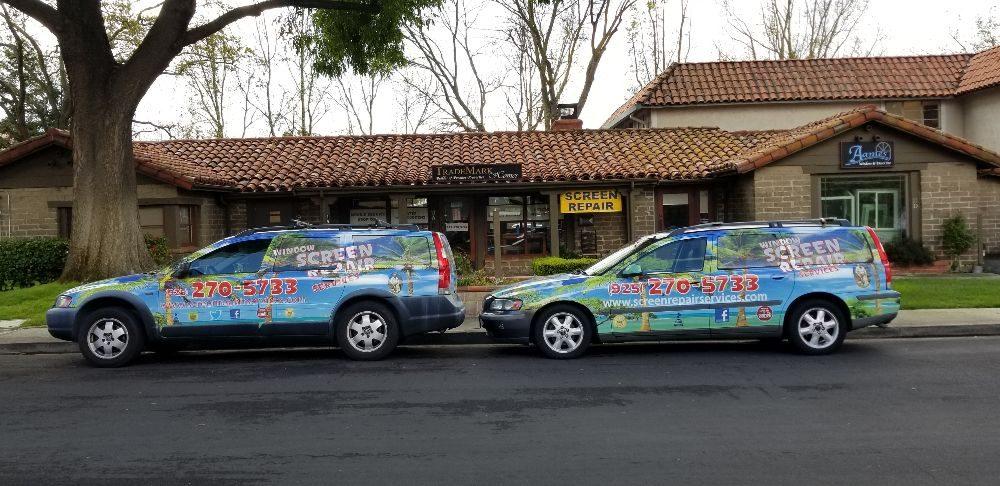 Mobile Window Screen Repair Services: 11 Orchard Ct Alamo 94507, Alamo, CA
