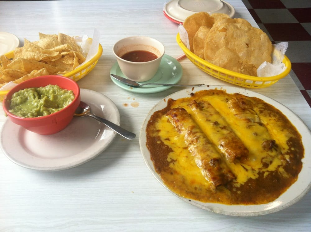 Photo Of El Patio   Austin, TX, United States. Full Cheese Enchiladas,
