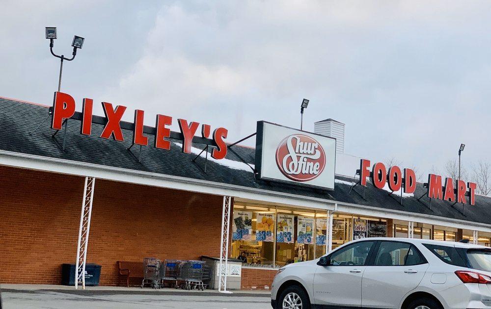 Pixley's Shur Fine Food Mart: 81 Buell St, Akron, NY