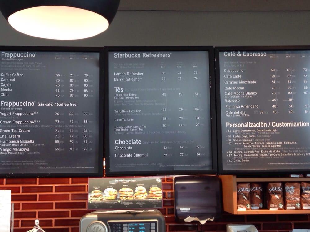 Best Starbucks Drink Menu Ever Yelp