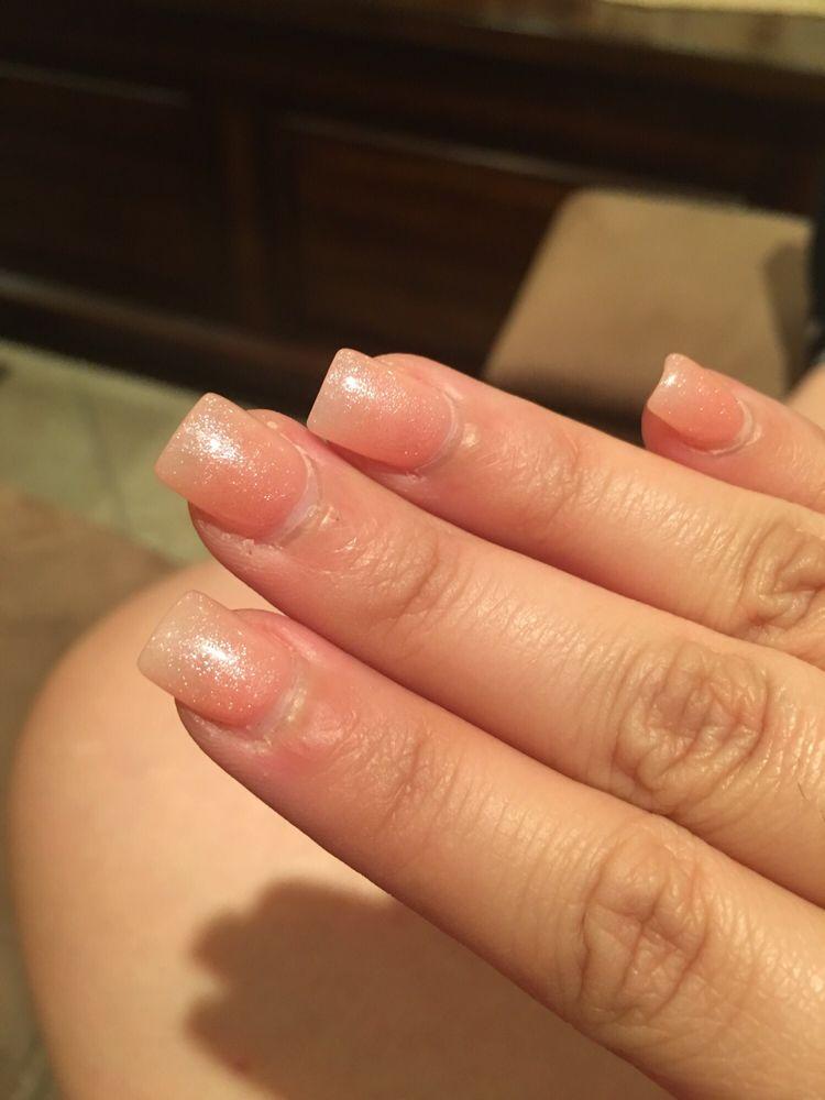 Take a look at my cuticles! Horrible job - Yelp