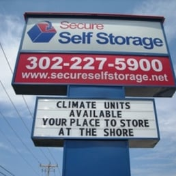 Photo Of Secure Self Storage   Rehoboth Beach, DE, United States. Your Place