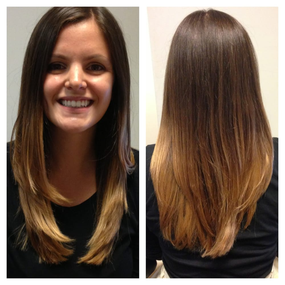 My Beautiful Ombre Hair Color And Cut From Mimi Yelp