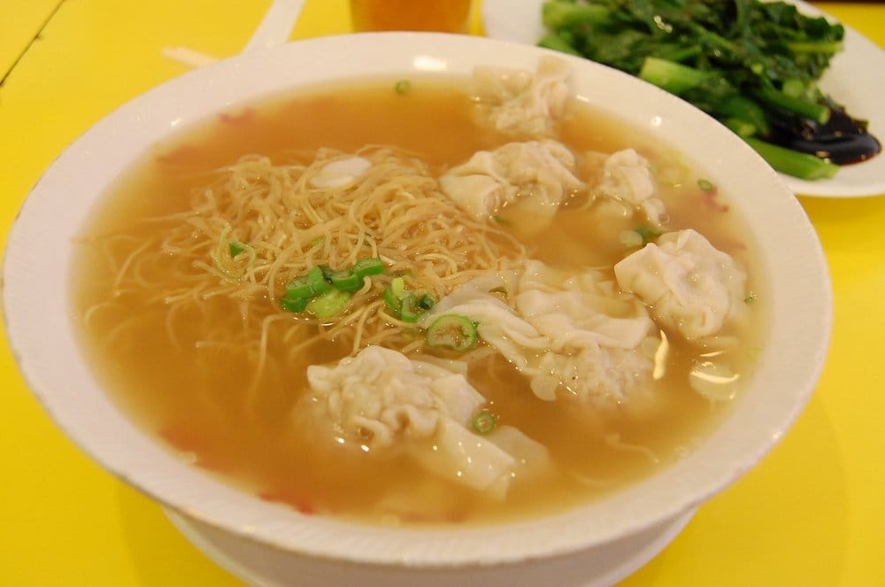 wonton noodle soup with extra noodles  yelp
