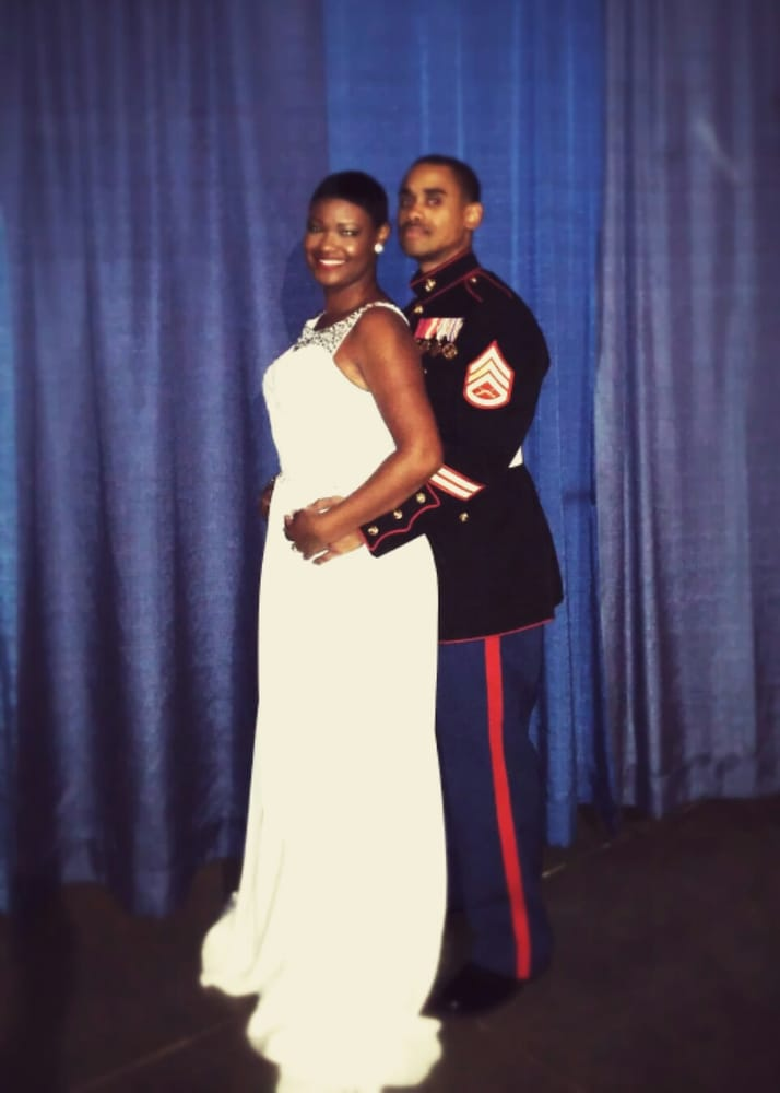 My military ball gown fits me like a glove. I\'ve gotten so many ...