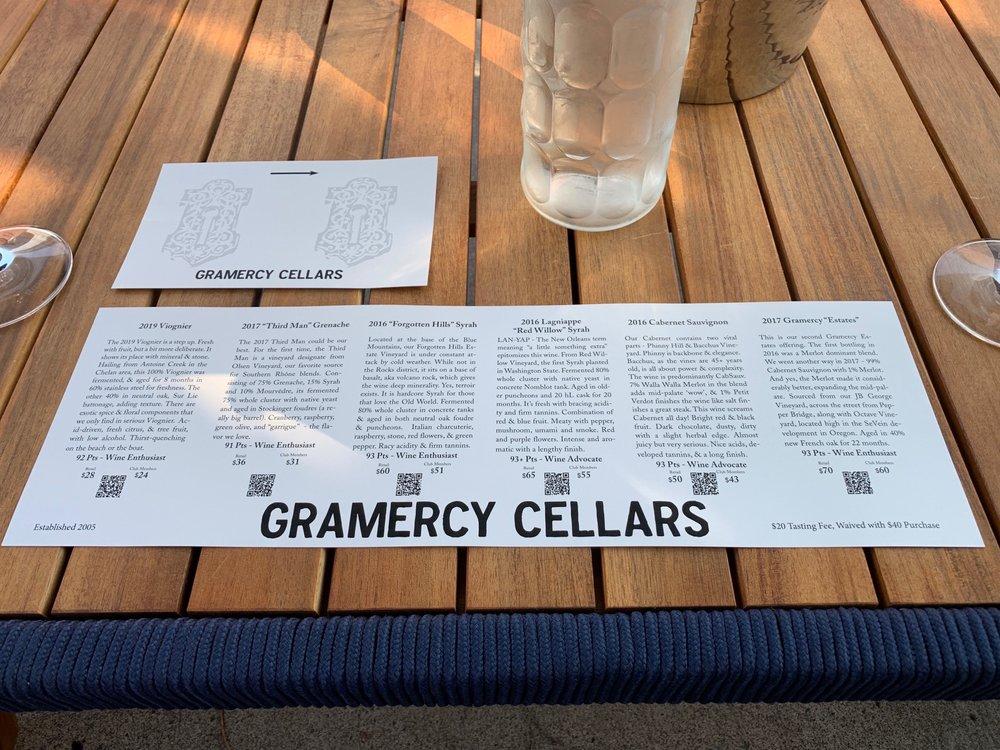 Social Spots from Gramercy Cellars