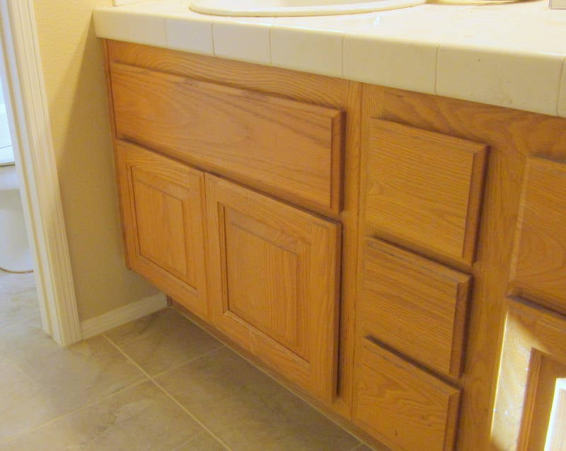 Bathroom cabinets before lacquer yelp for Bathroom cabinets yelp