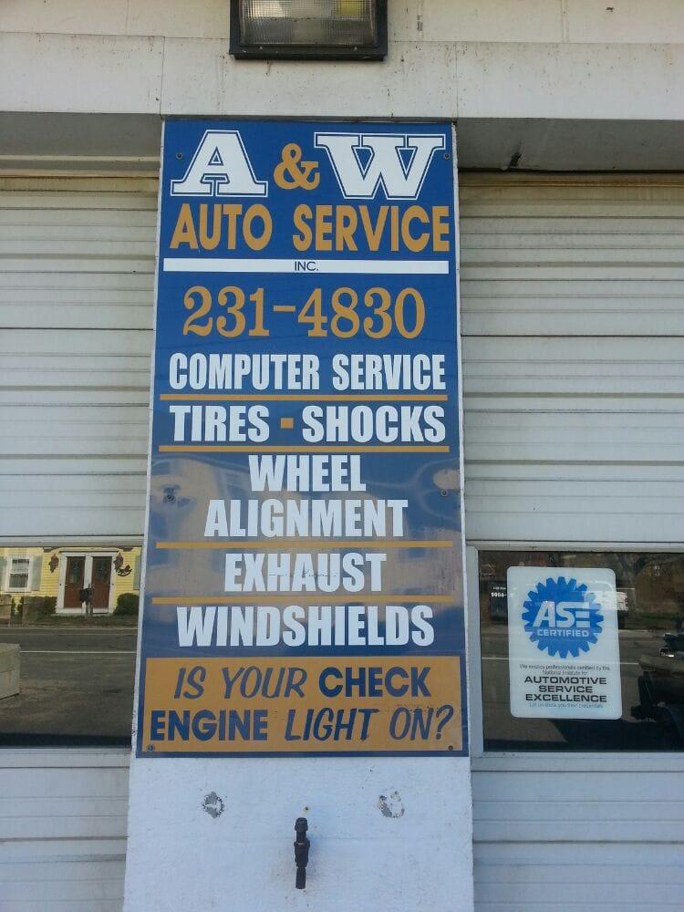 A & W Auto Service: 375 Farnum Pike, Smithfield, RI