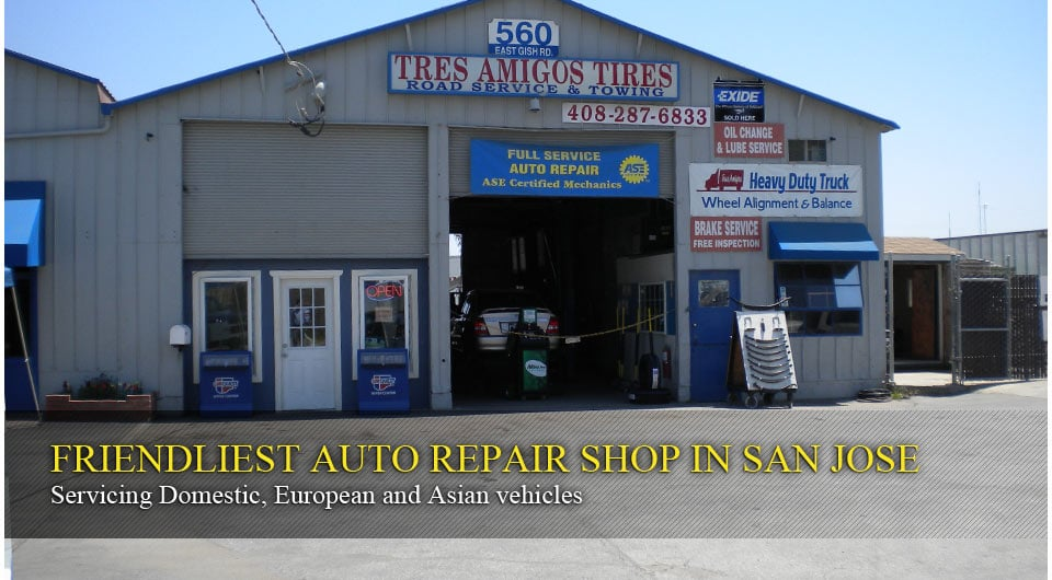 Photos for tres amigos auto repair and tires yelp for United motors san jose