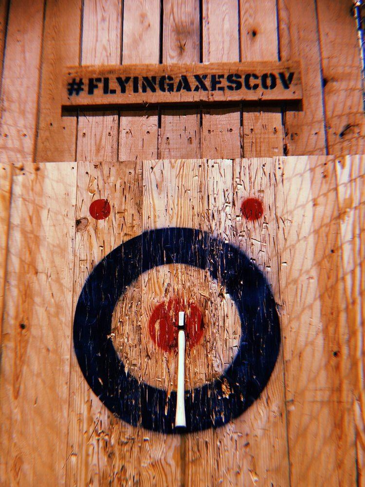 Flying Axes: 100 W 6th St, Covington, KY