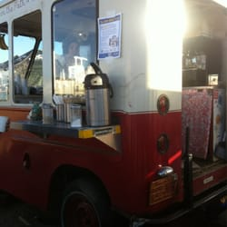 Peddler On The Path Mobile Cafe At The 24 Hour Town Coffee Tea