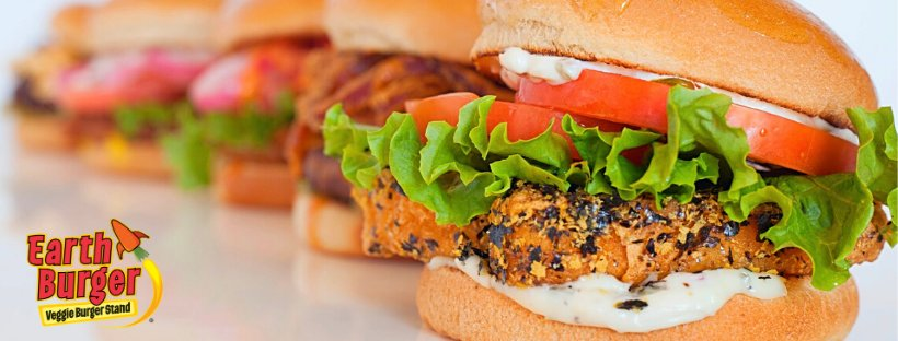 Earth Burger: 656 E Hopkins St, San Marcos, TX